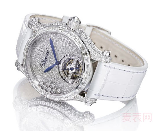 萧邦快乐钻石女士手表回收多少钱?答案让人意外