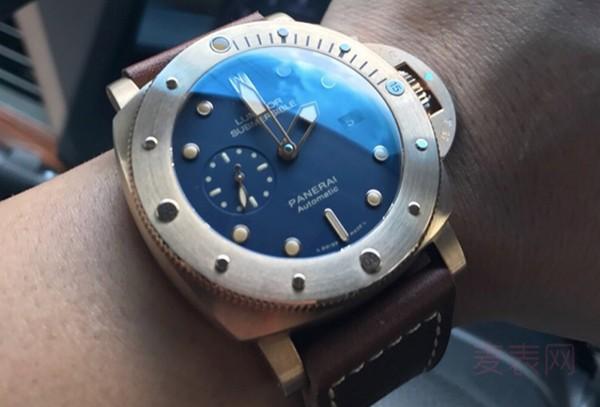 二手沛纳海pam00671手表回收多少钱?知道价格泪奔了