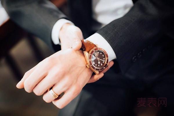 95新的帝舵碧湾青铜手表回收多少钱?看完你就了解