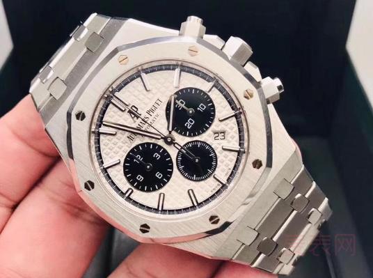 爱彼皇家橡树系列手表回收:匠心的手艺贴心的回收价格