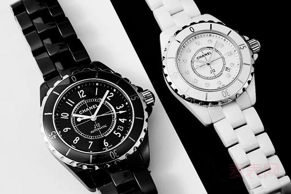 香奈儿J12陶瓷手表回收多少钱?简直不敢相信