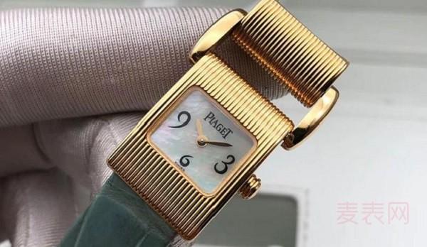 你想要的低调又奢华 回收来的这款二手伯爵手表就有