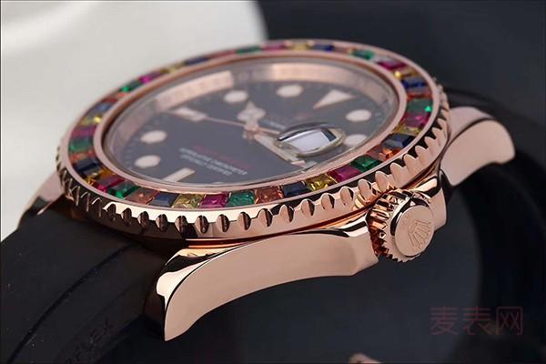 劳力士邂逅宝石 绝美的二手糖果圈手表回收多少钱?