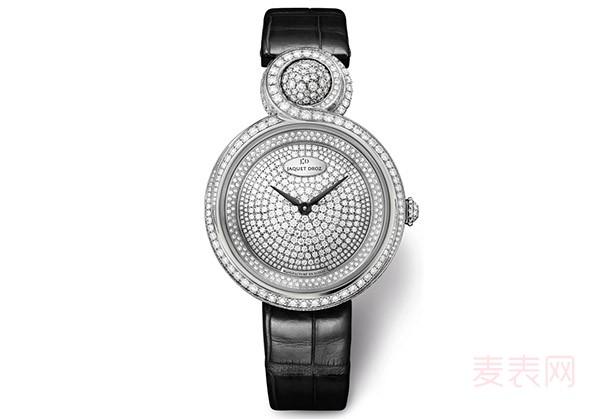 万万没想到 这样的雅克德罗葫芦盘二手手表回收情况还不错