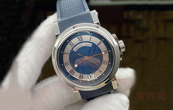 宝玑航海系列二手表回收难见高价 雷声大雨点小