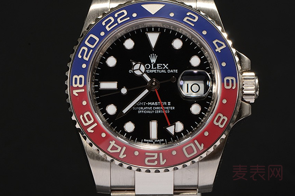 9成新劳力士可乐圈手表回收价格喜人 款式or成色哪个更重要
