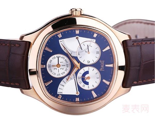 二手万年历伯爵手表回收多少钱 不同系列档次存在差异