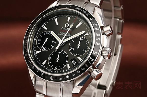 欧米茄手表回收行情喜人 海马和超霸哪个系列更具保值力
