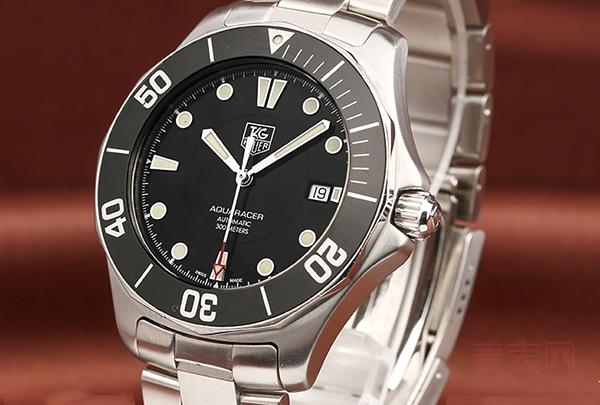 看气质不输水鬼 泰格豪雅竞潜二手手表回收凭这点征服市场