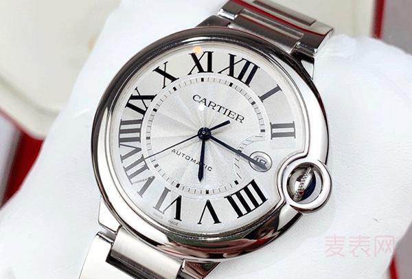 卡地亚帕莎二手手表回收不如蓝气球?看这一点就决定了