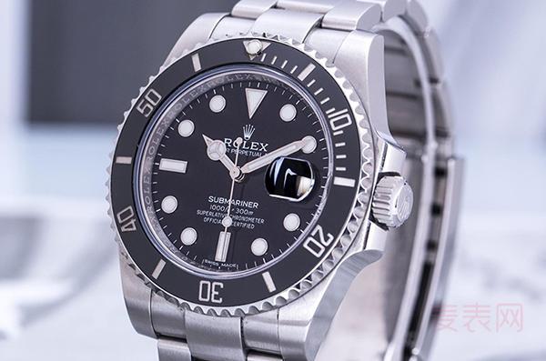 劳力士潜航者二手表回收开挂 超公价已是寻常事