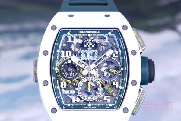 """号称""""亿万富翁入场券""""的理查德米尔手表回收能有几折?"""
