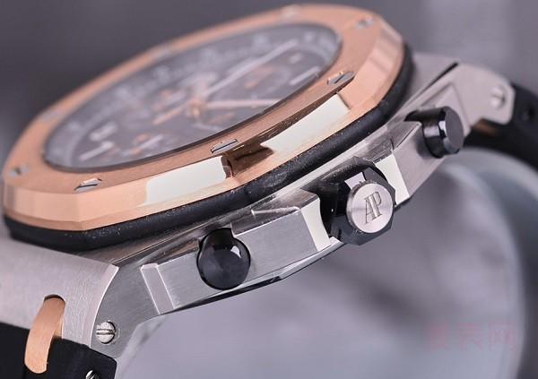 高颜值的爱彼26471SR凭借回收手表价位 成功收获一波路人粉