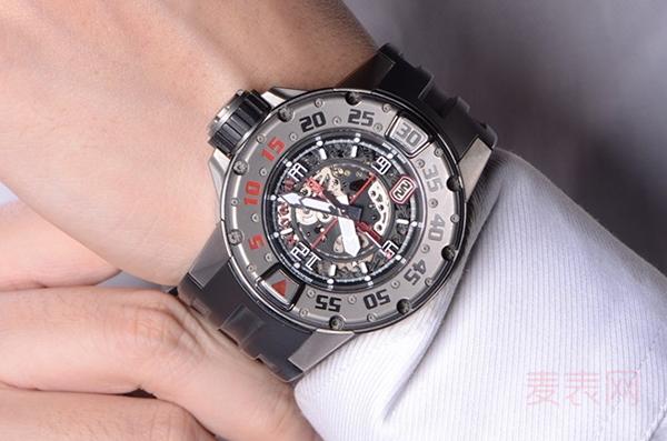 理查德米尔RM028二手手表回收价格高 网友:二手也买不起