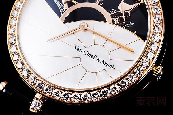 梵克雅宝VCARO3ZA00二手表回收价格让表迷们直呼:买不起