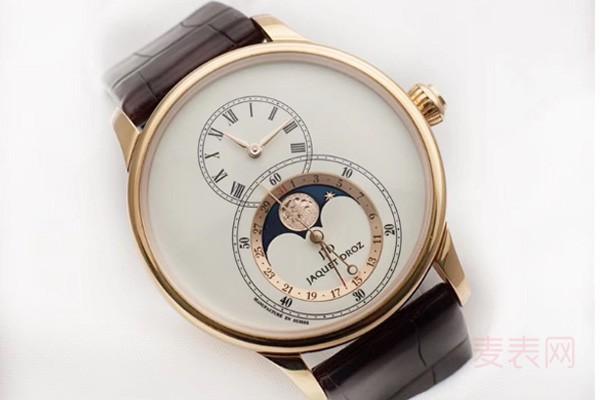 """大秒针系列雅克德罗手表回收 有""""""""背透就是不一样"""