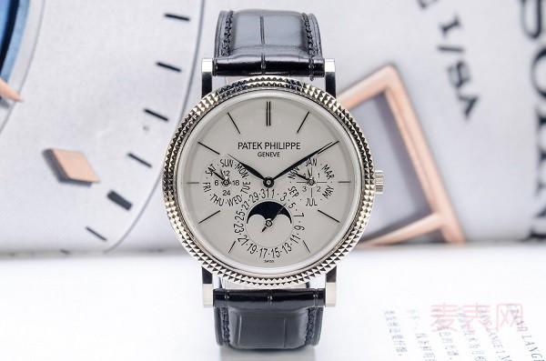 18K金百达翡丽5139G手表回收市场价没起色 投资手表不靠谱