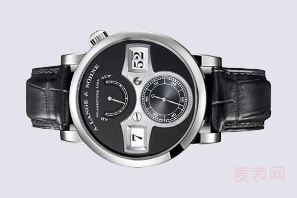 实力银表盘朗格ZEITWERK140.029手表回收行情好因有加分项