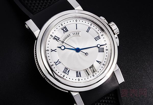 回收宝玑航海系列二手手表价格低至4折!得知震惊了