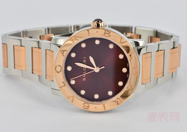 """听闻有""""魅惑之红""""之称的宝格丽BB Lady手表回收价位仅5折"""