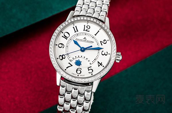 镶钻的积家3468121二手手表回收多少钱?女表也不同凡响