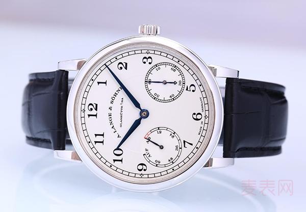 朗格234026二手表哪里回收好?选对地方价格上涨!