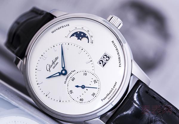 格拉苏蒂偏心系列二手手表回收普遍5折,高档次也会失手!