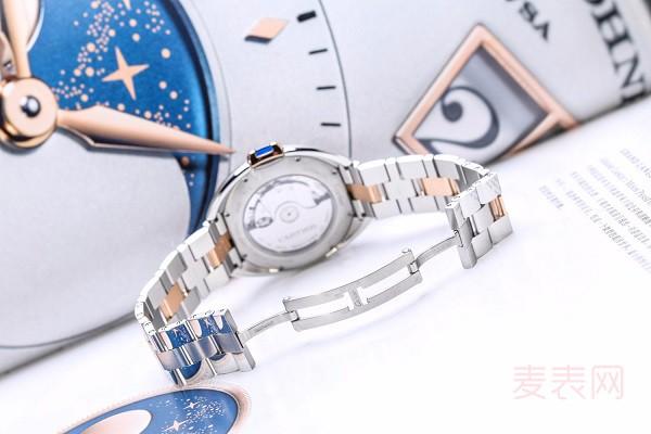 卡地亚W2CL0002二手表一般几折回收 据说行情不好是真的?