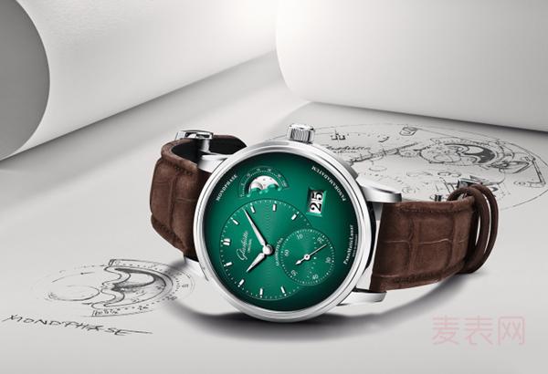 格拉苏蒂原创系列手表回收多少钱 色彩缤纷有助于得高价吗?