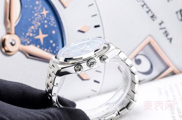 回收江诗丹顿纵横四海旧手表价格有望提升 靠的是市场热度