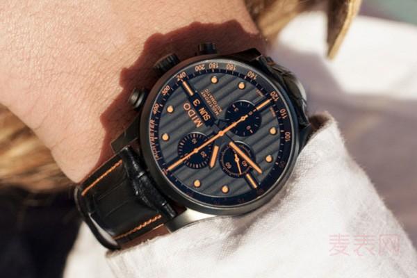 盘面拉风的二手美度舵手系列手表回收热度高有几折保值率?