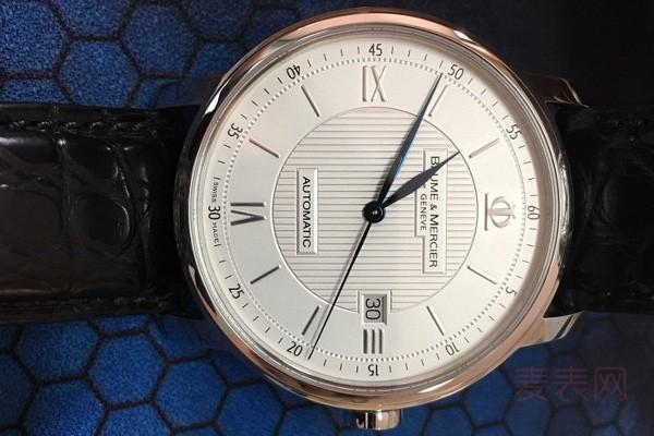 二手名士表克莱斯麦系列MOA08731手表回收因走时慢折扣大