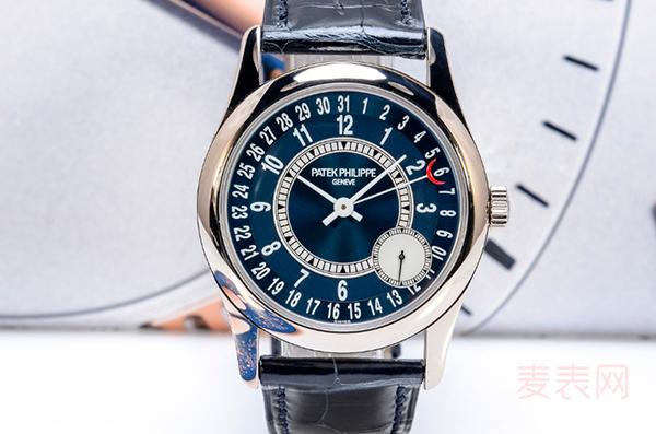 百达翡丽6000G012名牌二手手表回收因古典光芒而保值!