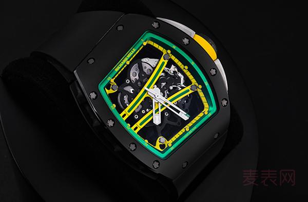 理查德米尔RM6二手手表回收价格超霸气,保值力属实亮眼