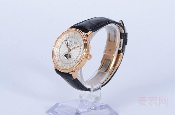 入坑首选经典系列 多功能宝珀商务风手表回收多少钱