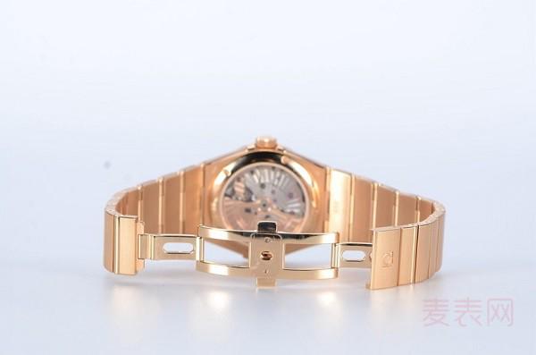 原价三十万的欧米茄星座二手表回收多少钱才合理