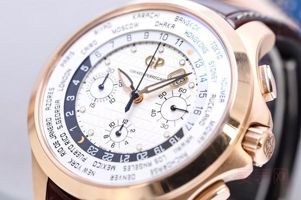 玫瑰金的世界时芝柏手表回收一般几折 半价回收都不容易
