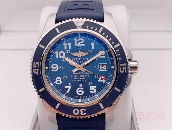 百年灵海洋复仇者手表回收价位提升靠成色就够了?
