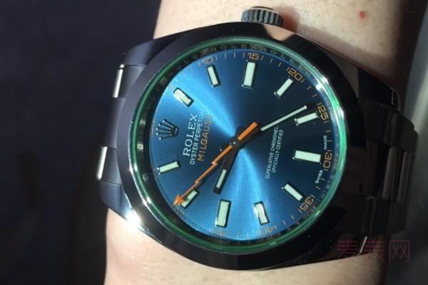 不温不火的劳力士格磁型系列手表回收也能行 绿玻璃有望涨价