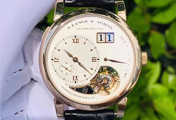 朗格LANGE 1系列二手手表回收价格居高不下 背后原因被深扒