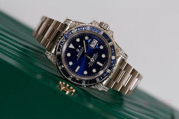 顶配二手劳力士潜航者手表回收多少钱 吃瓜群众被劝退