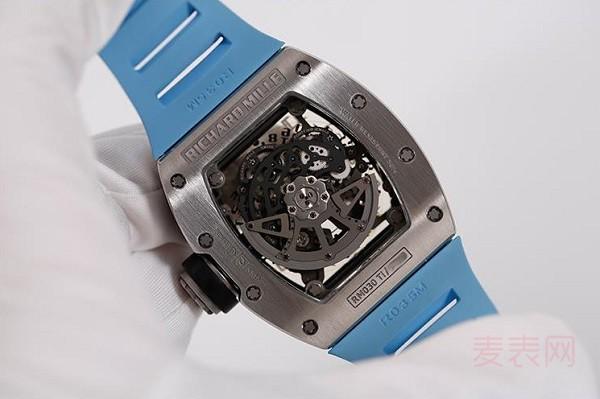 钛合金理查德米尔手表回收多少钱 高端品牌变现更不易