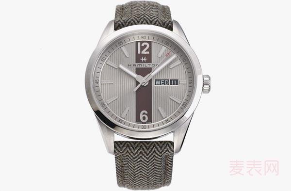 回收汉米尔顿H43311985二手手表价格是原价的几折?