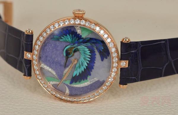 回收镶钻梵克雅宝非凡表盘系列二手手表价格有多高?
