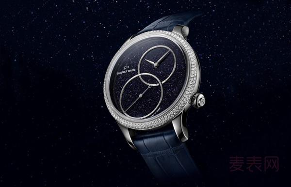这附近哪里有炫彩的雅克德罗时分小针盘手表回收?