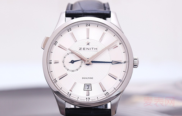 真力时双时区箐英二手手表回收价格为何不给力?