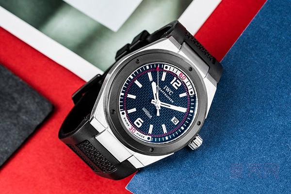 黑面防磁万国手表回收多少钱 工程师腕表不符合主流审美