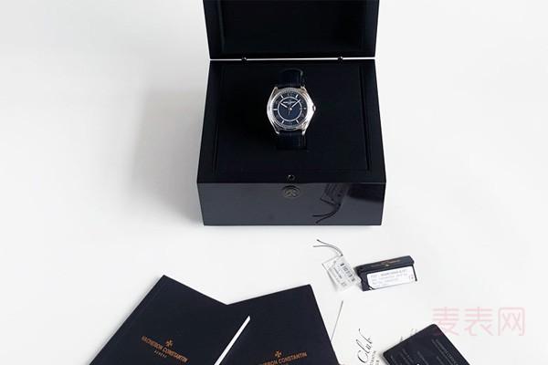 十万以下的江诗丹顿名表回收几折?伍陆之型手表超保值