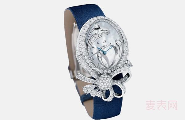 档次高的东西二手价也不低,那回收宝玑高级珠宝手表多少钱?