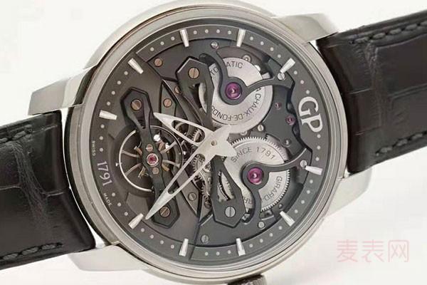 9成新的芝柏手表打多少折回收?